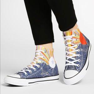 Converse x Mara Hoffman Mi Sun Sneakers, sz 7
